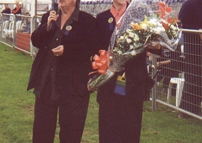 MARY-SHARPE-PRESENTING-ANNE-JAMES-WITH-FLOWERS-MAY-2000